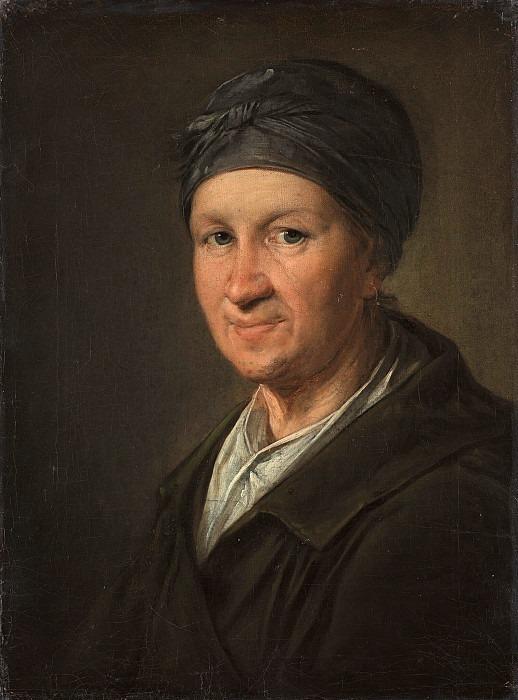 Портрет женщины в повойнике. Василий Андреевич Тропинин