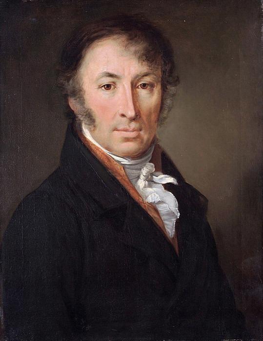 Портрет Николая Михайловича Карамзина. Василий Андреевич Тропинин