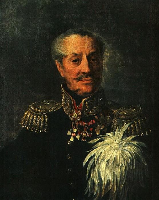 Портрет Л. Я. Неклюдова. 1825. Vasily Tropinin