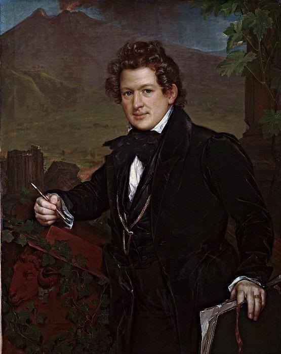 Portrait of Karl Bryullov. Vasily Tropinin