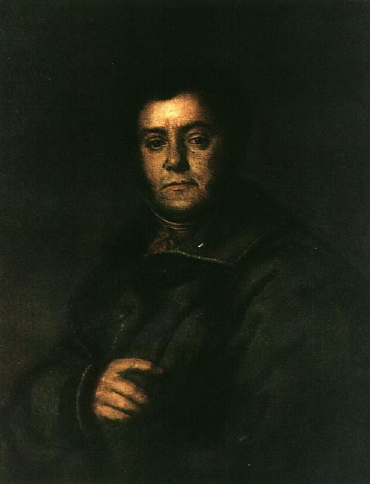 Портрет В. М. Яковлева. Конец 1820-х — начало 1830-х. Vasily Tropinin
