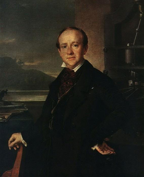 Портрет Н. А. Селивановского. 1843. Василий Андреевич Тропинин
