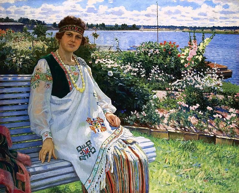 Spring. Nikolai Petrovich Bogdanov-Belsky