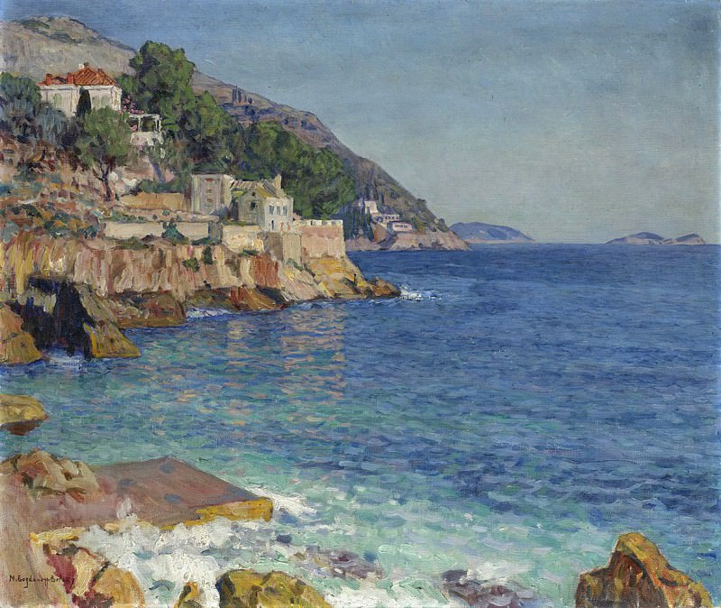 Southern Seascape. Nikolai Petrovich Bogdanov-Belsky
