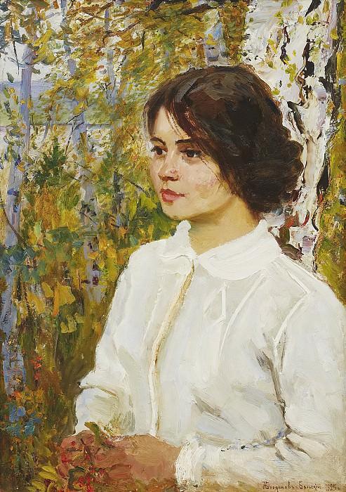 Autumn Musings. Nikolai Petrovich Bogdanov-Belsky