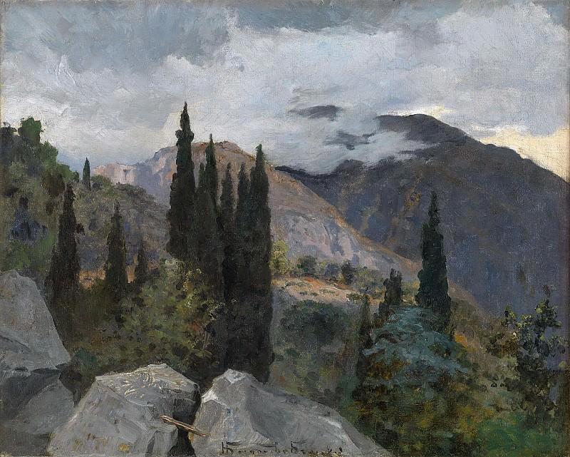 Crimean Landscape. Nikolai Petrovich Bogdanov-Belsky
