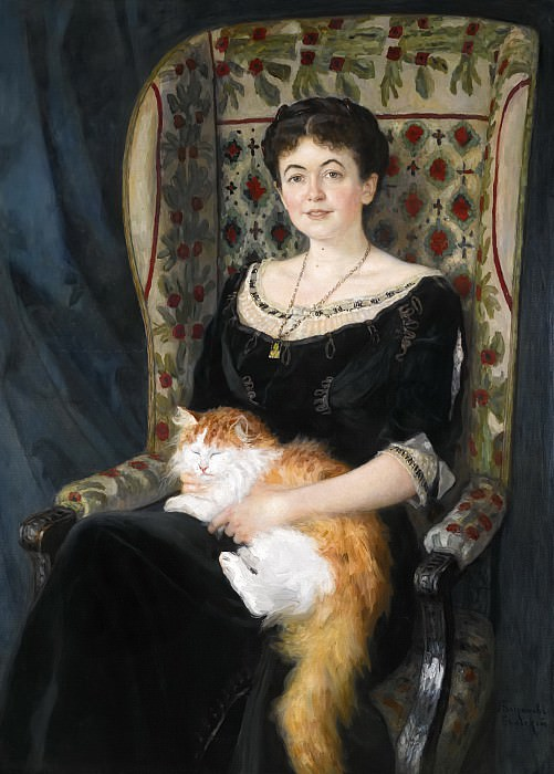 Portrait of a Lady. Nikolai Petrovich Bogdanov-Belsky
