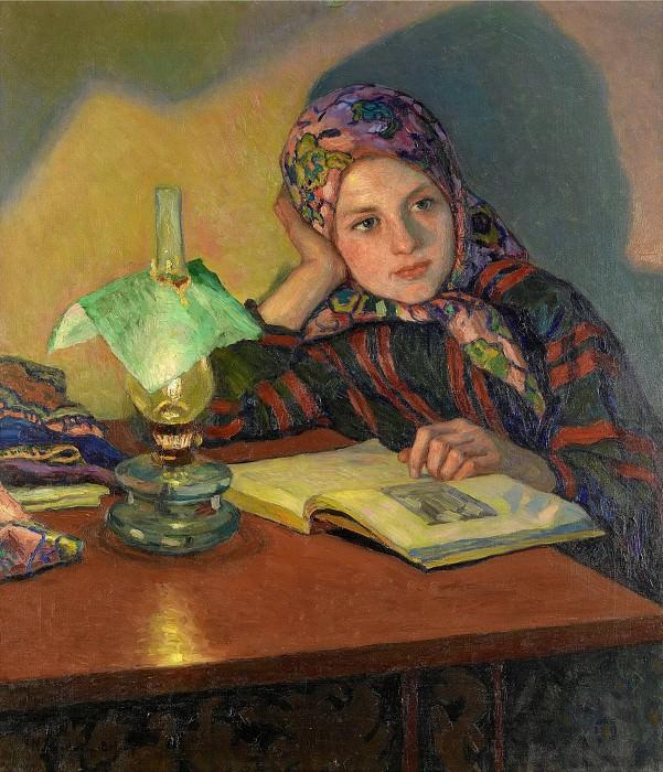 Inspiration. Nikolai Petrovich Bogdanov-Belsky