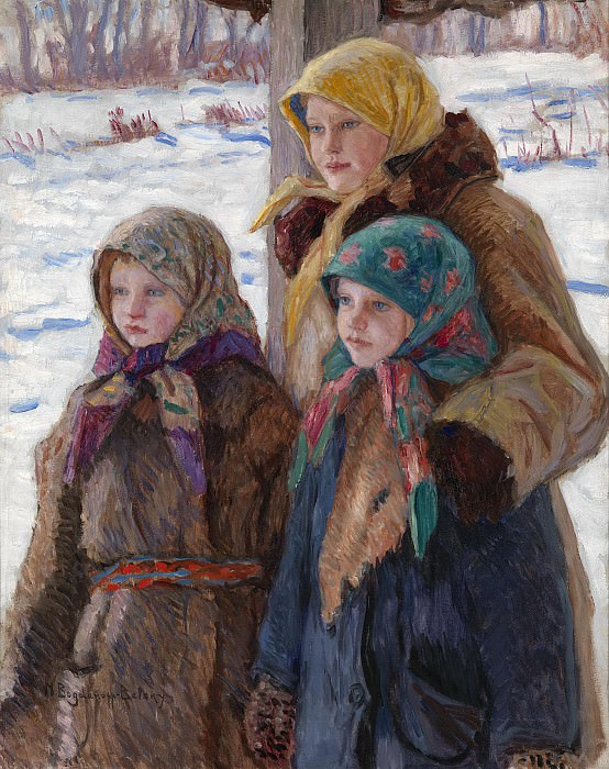 Three Sisters. Nikolai Petrovich Bogdanov-Belsky