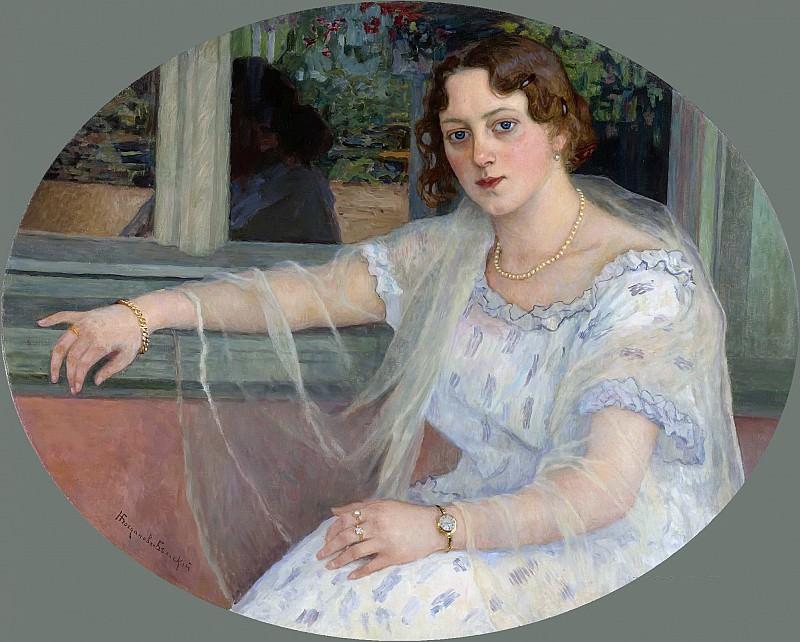 The young beauty. Nikolai Petrovich Bogdanov-Belsky