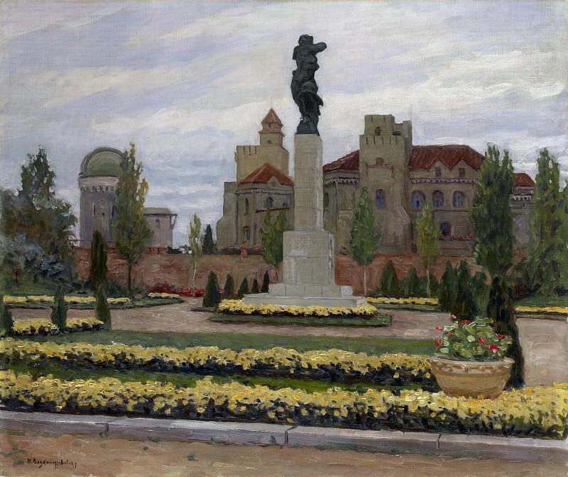 Monument to France in Belgrade. Nikolai Petrovich Bogdanov-Belsky