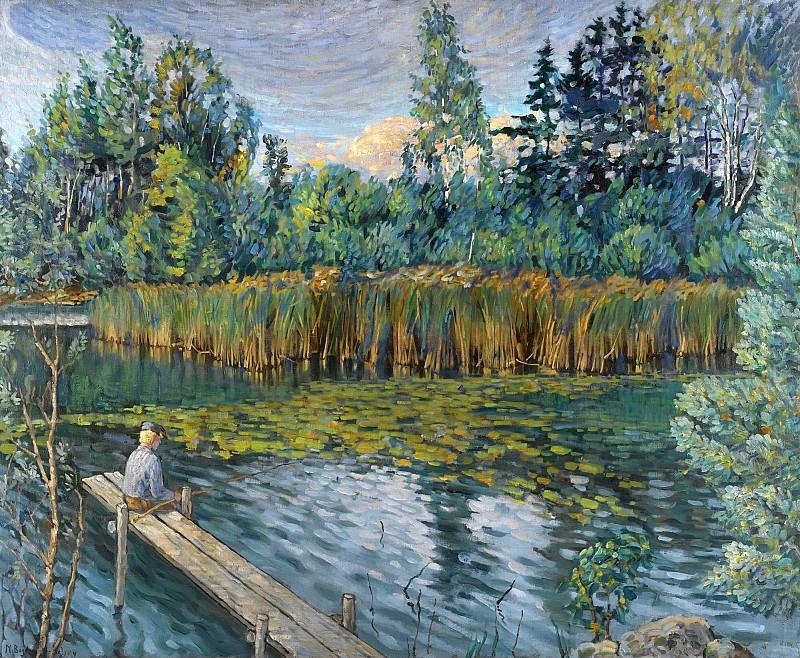 The Angler. Nikolai Petrovich Bogdanov-Belsky