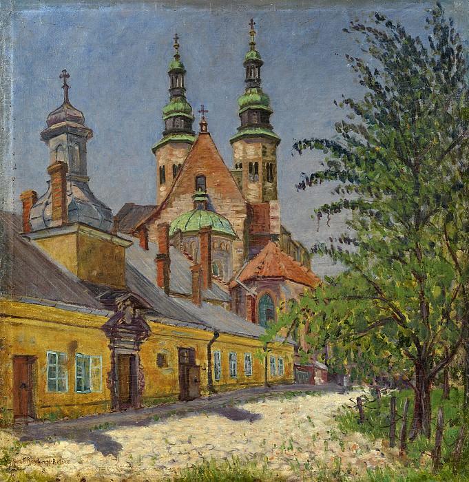 Вид церкви. Николай Петрович Богданов-Бельский