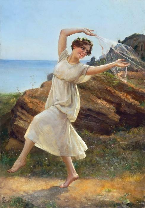 Antique Dance. Nikolai Bodarevski