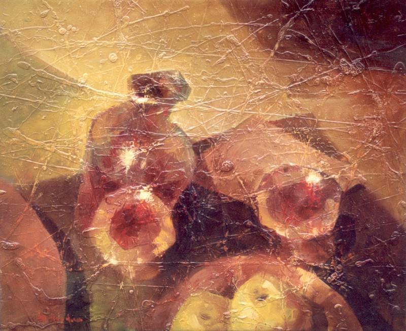 Натюрморт с яблоками. Юрий Юрьевич Прядко