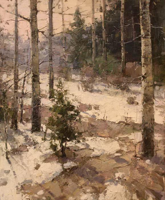 Зимнее утро. Yuri Pryadko