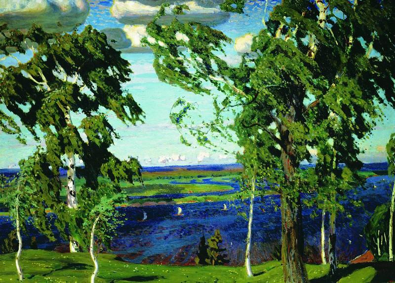 Green Breeze. Arkady Rylov