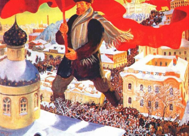 kustodiev bolshevik 1920. Boris Kustodiev