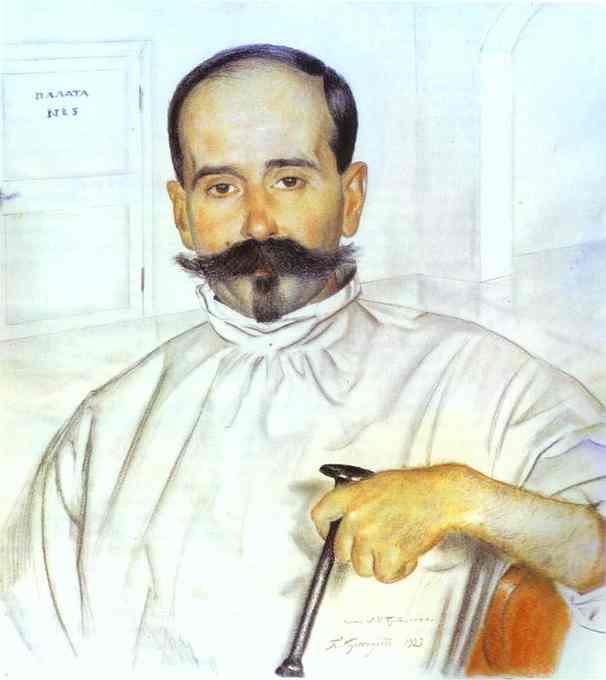 #22884. Борис Михайлович Кустодиев