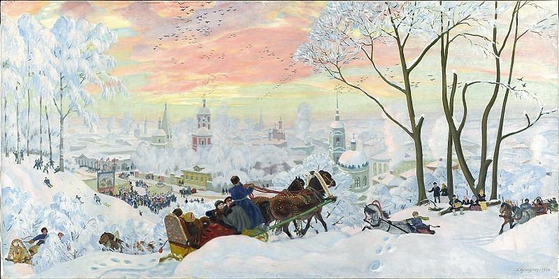 Maslenitsa. Boris Kustodiev