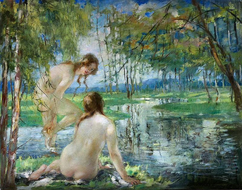 The Bathers. Vitaly Gavrilovich Tihov