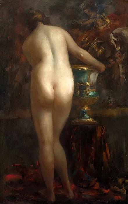 Female Nude. Vitaly Gavrilovich Tihov