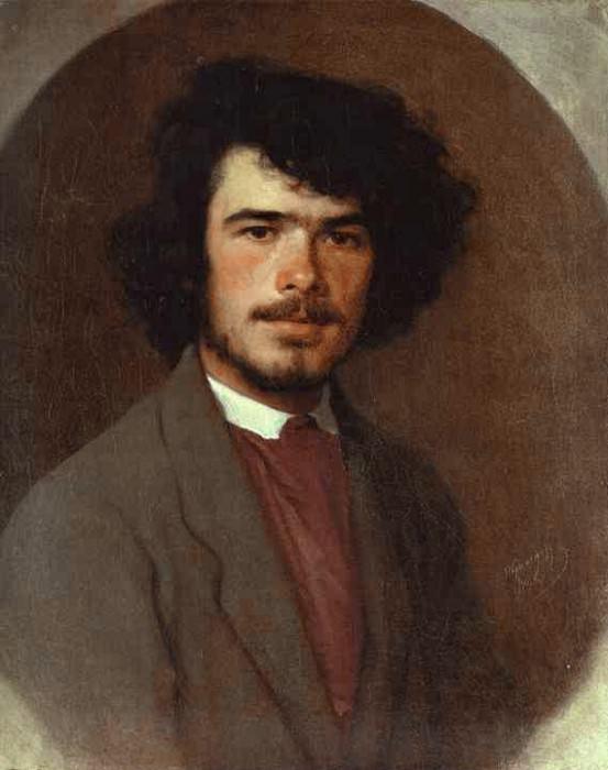 Portrait of the Agronomist Vyunnikov. Ivan Kramskoy