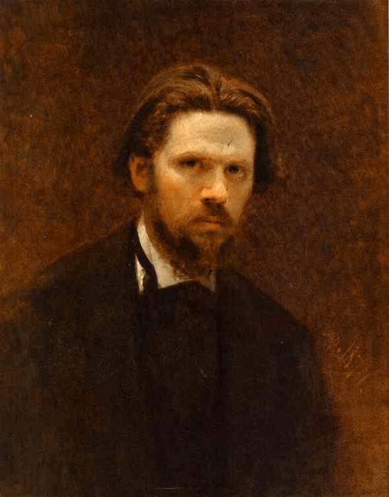1874 Self-Portrait. Ivan Kramskoy