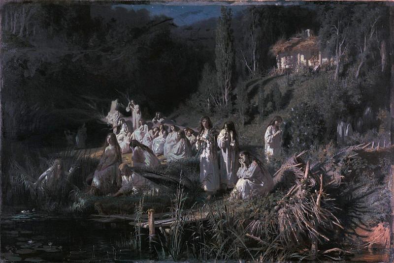 Mermaids. Ivan Kramskoy