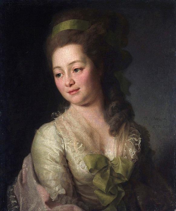 Portrait of Maria Alekseevna Dyakova. Dmitry Levitsky (Levitzky)
