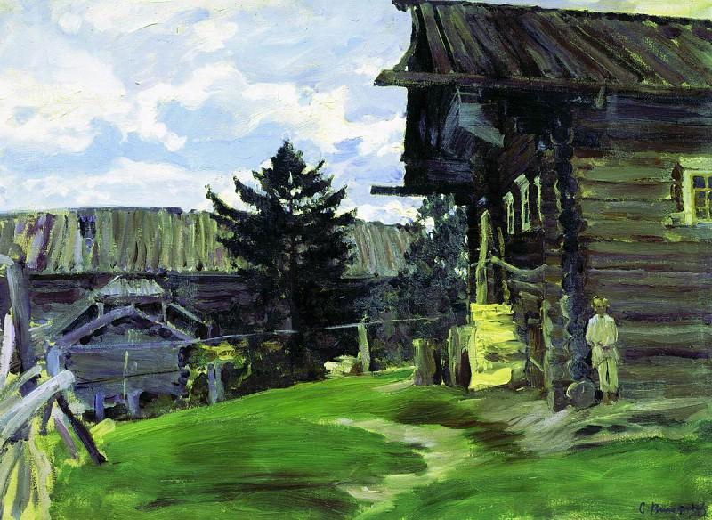 Северная деревня. 1902. Sergey Vinogradov