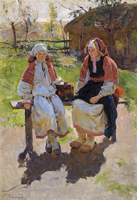 Крестьянские девушки. Sergey Vinogradov