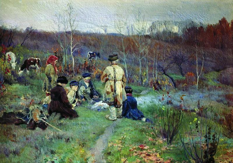 Дети. 1895. Sergey Vinogradov