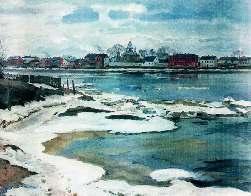 Ледоход на Двине. 1927. Sergey Vinogradov