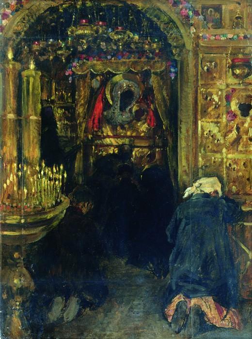 В церкви. Конец 1890-х. Sergey Vinogradov