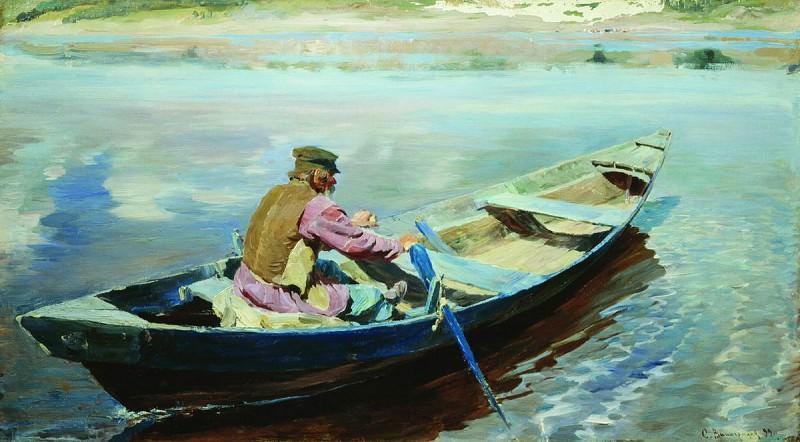 На реке. 1899. Сергей Арсеньевич Виноградов