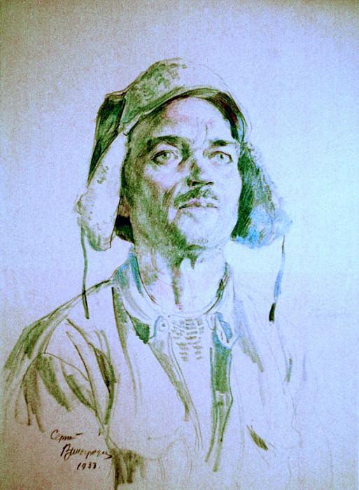 Рабочий-каменщик. 1933. Sergey Vinogradov