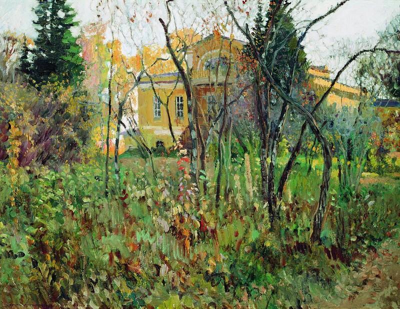 В усадьбе осенью. 1907. Sergey Vinogradov