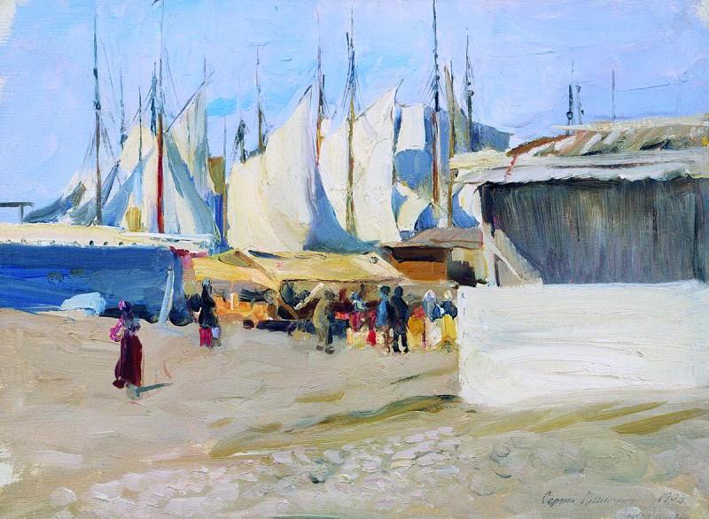Пристань. Архангельск. 1903. Sergey Vinogradov