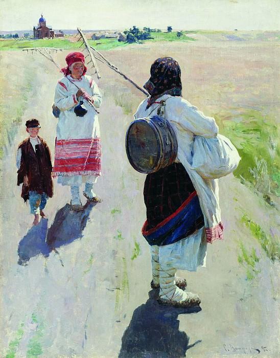 На работу. 1895. Sergey Vinogradov
