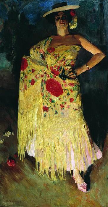 Испанская танцовщица (Отэро). 1903. Sergey Vinogradov