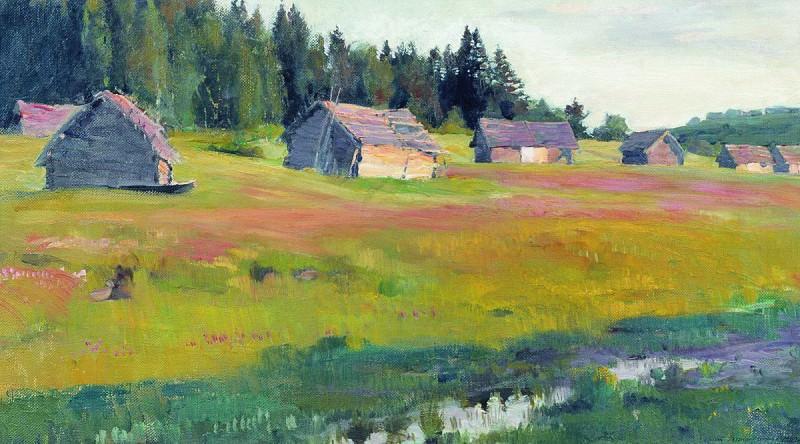 Вечер (Сараи). 1900. Сергей Арсеньевич Виноградов