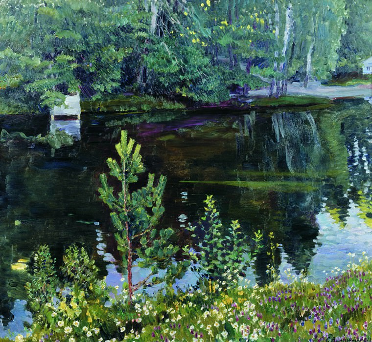 Пруд. 1913. Sergey Vinogradov