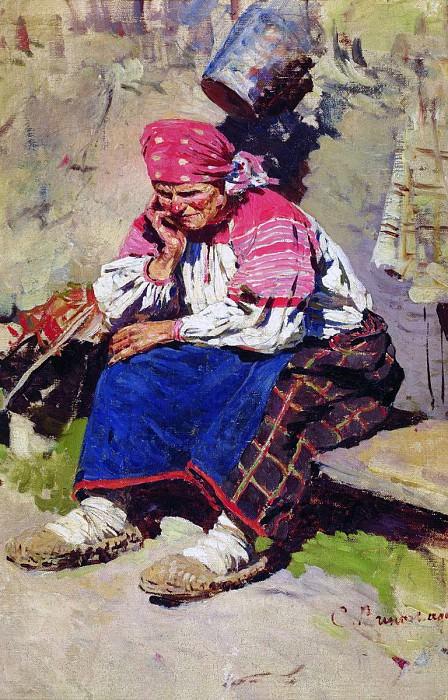 Баба. 1890. Sergey Vinogradov