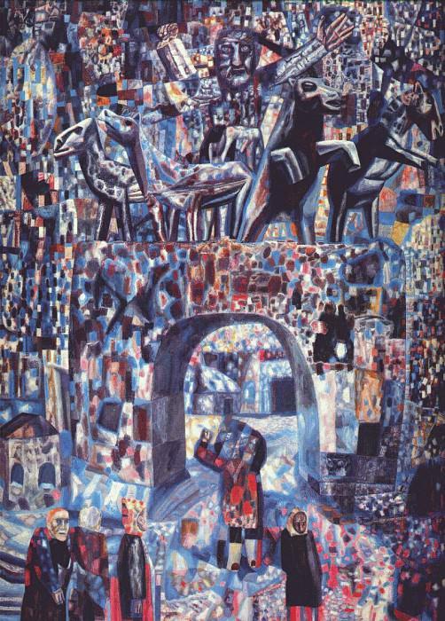 filonov the narva gates 1929. Pavel Filonov