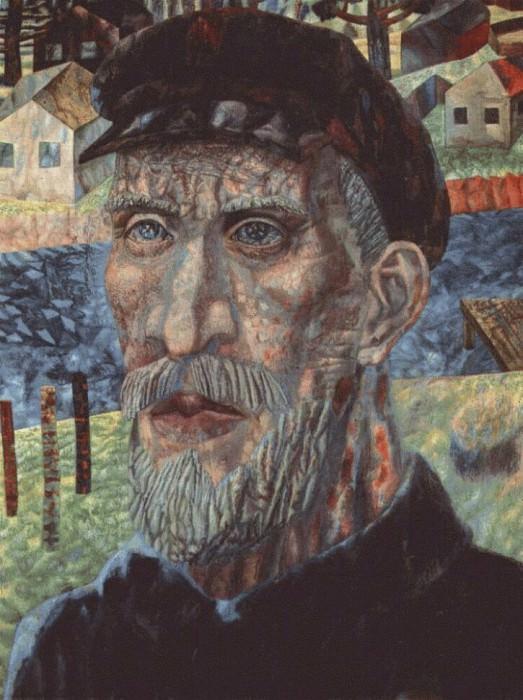 filonov a collective farmer 1931. Pavel Filonov