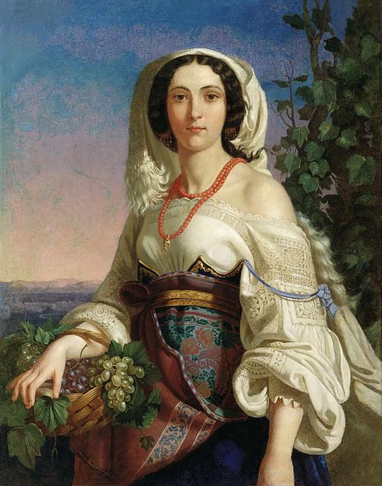 Неаполитанка 1839. Пимен Никитич Орлов