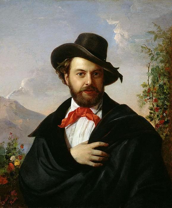Автопортрет 1851. Пимен Никитич Орлов