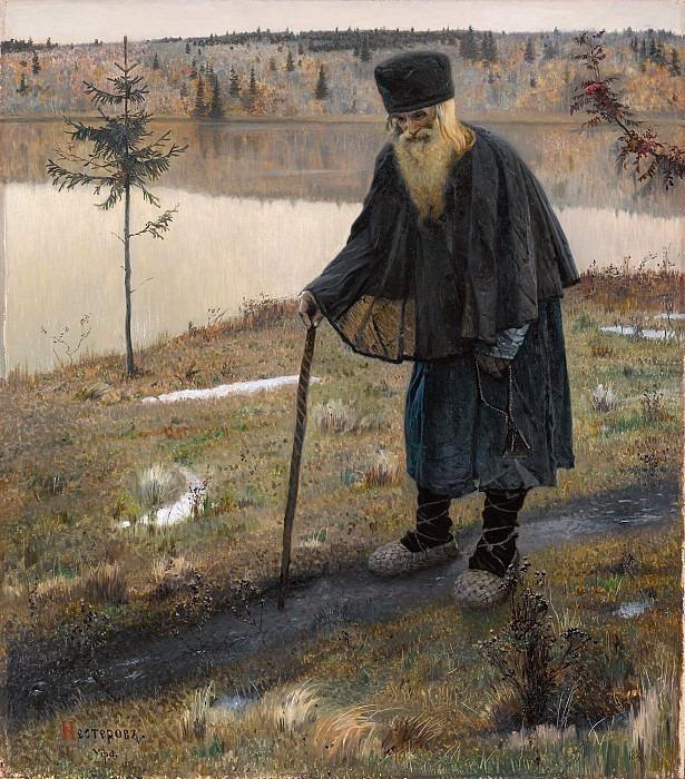 Hermit. Mikhail Nesterov