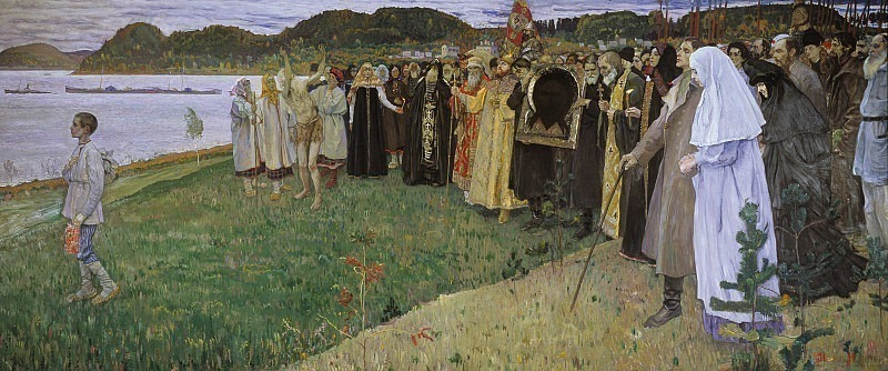 In Russia (Soul of the people). Mikhail Nesterov